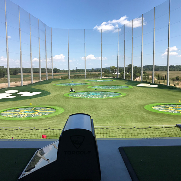 Vision Electric Top Golf Chesterfield Missouri Lighting Project 2018-2