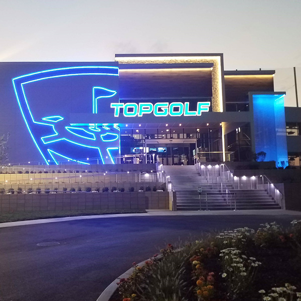 Vision Electric Top Golf Chesterfield Missouri Lighting Project 2018